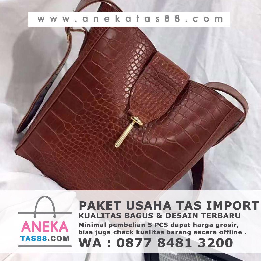 Paket usaha tas import di Sawahlunto