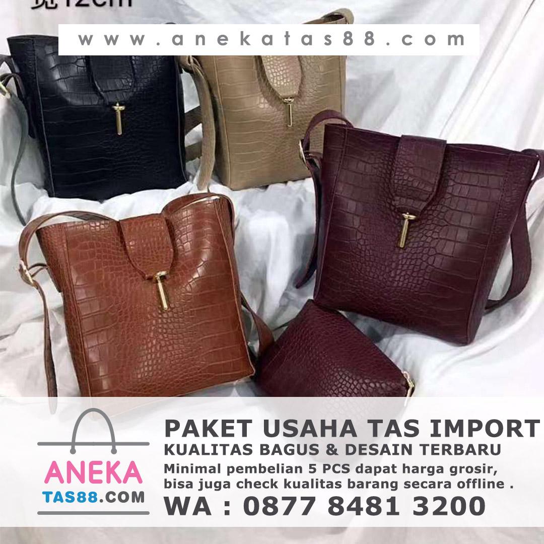 Paket usaha tas import di Semarang