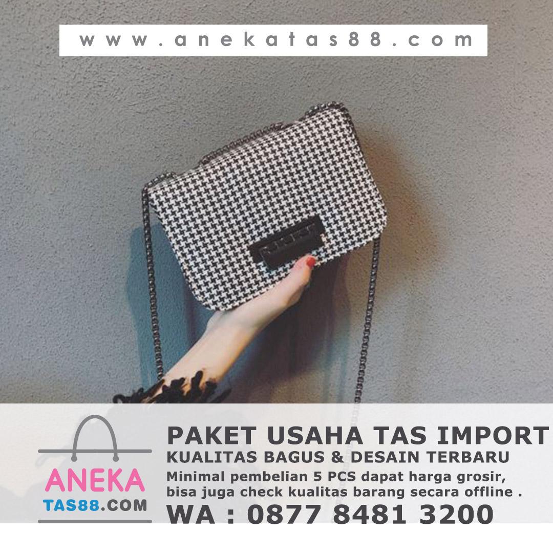 Paket usaha tas import di Sibolga