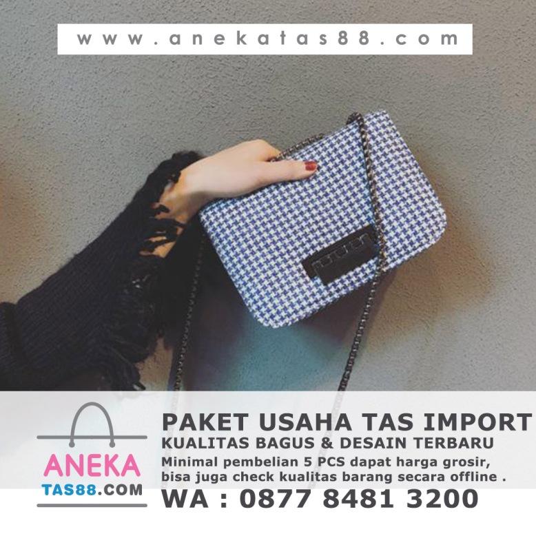 Paket usaha tas import di Solok