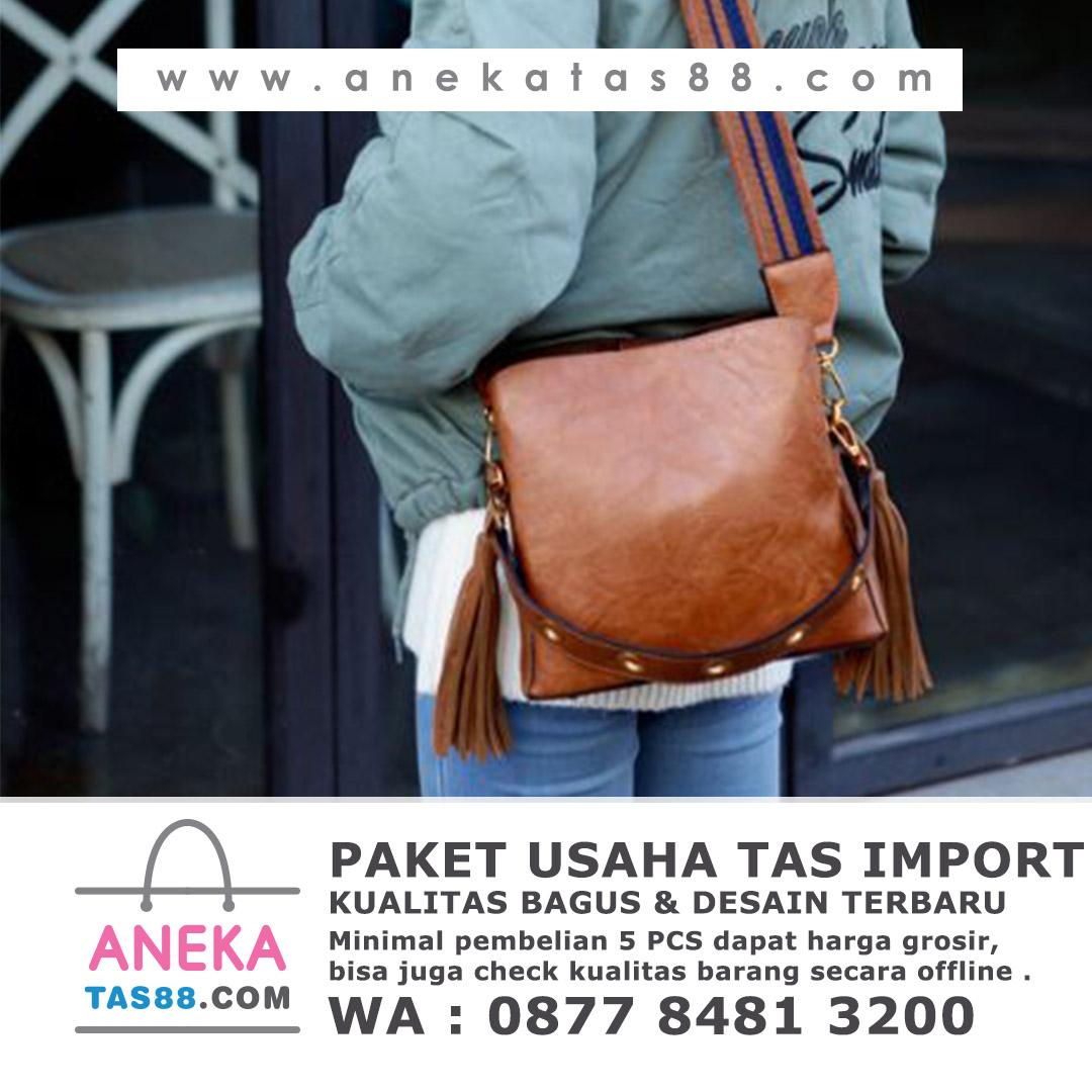 Paket usaha tas import di Madiun