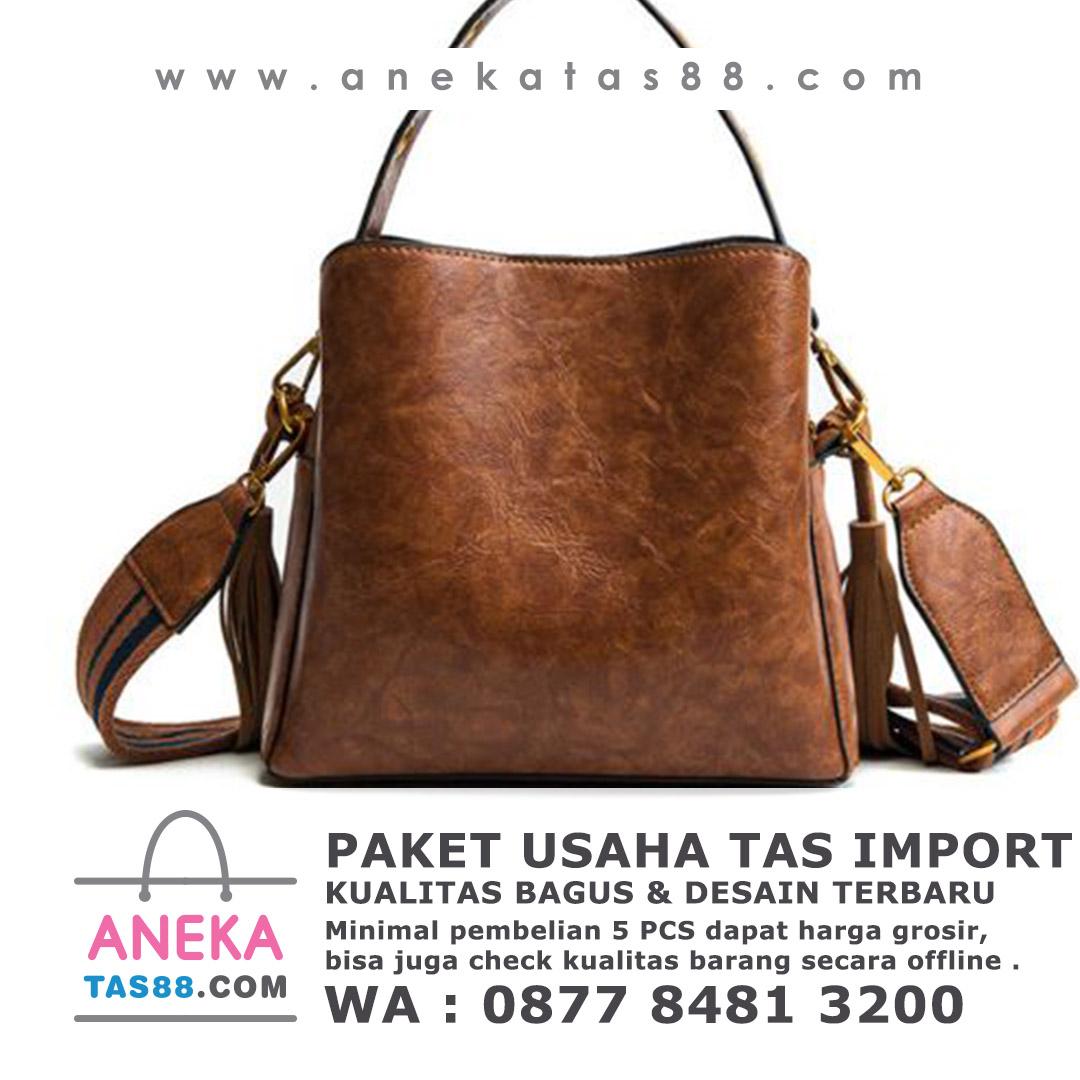 Paket usaha tas import di Makasar