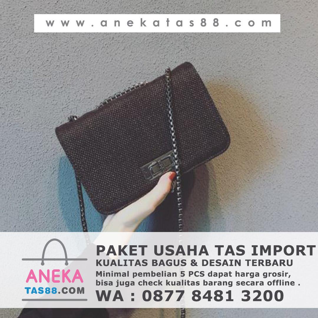 Paket usaha tas import di Medan