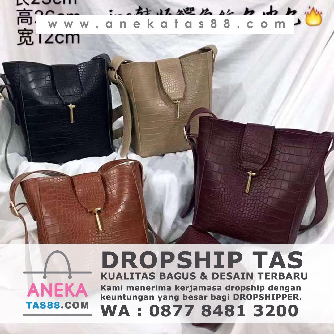 Dropship tas import di Ambon